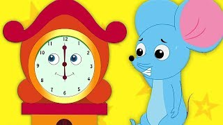 Gambar cover Hickory Dickory Dock | Reime in Deutsch | Kinderreime | German Rhymes | Kids Tv Deutschland