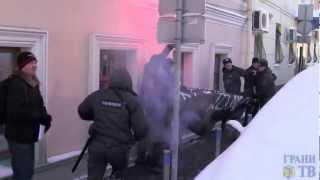 Разгон акции памяти Долматова у посольства(, 2013-01-23T10:56:56.000Z)
