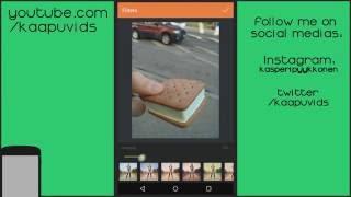 InstaSquare Efeitos SnapChat Como Colocar carinhas tipo Snapchat Escrever nas Fotos