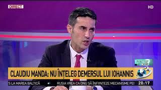 Claudiu Manda, mesaj după demersul lui Iohannis privind legile justiției
