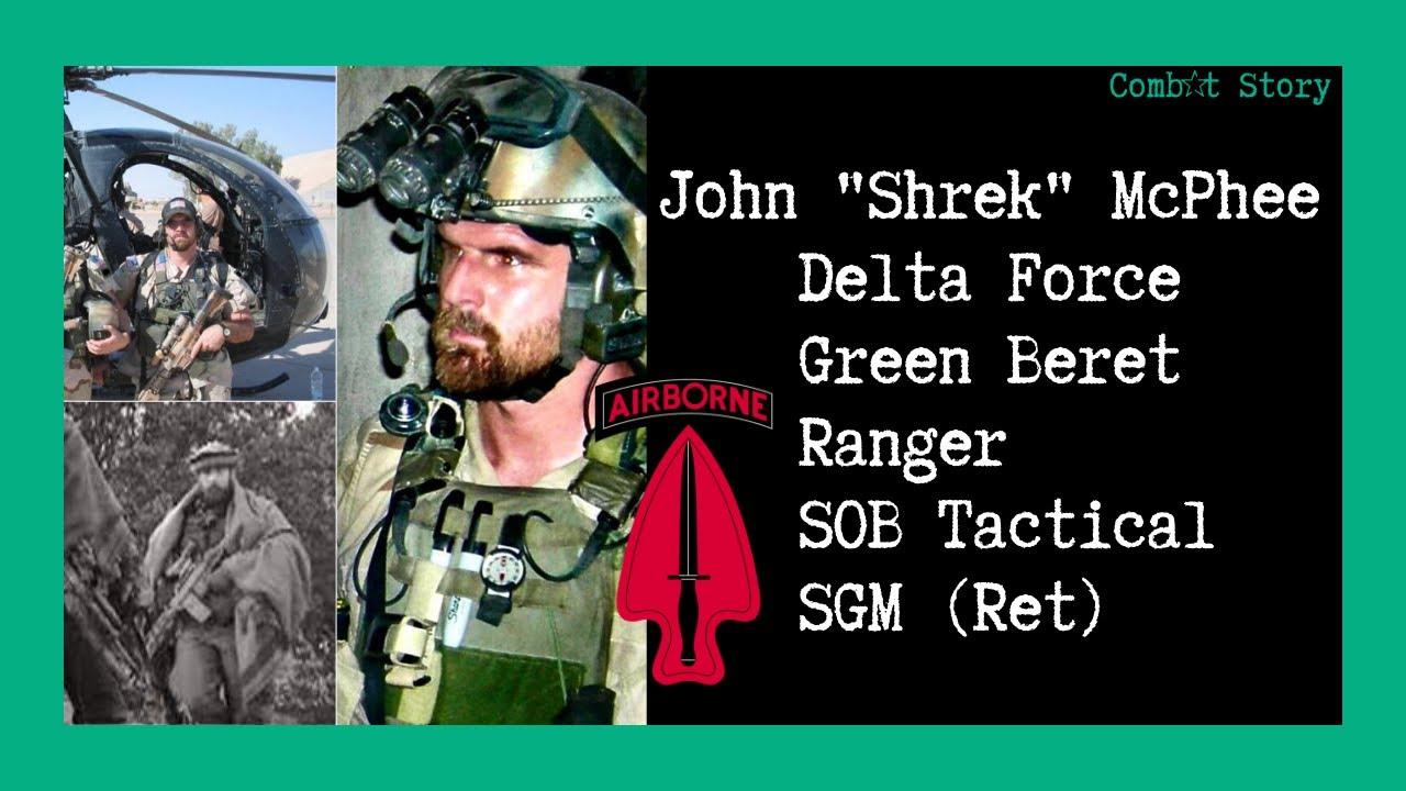 "Download Combat Story (Ep 25): John ""Shrek"" McPhee | Delta Force | Green Beret | Ranger | SOB Tactical"