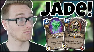 I Summon a LARGER MAN (Jade Rogue is UNSTOPPABLE!)   Galakrond's Awakening   Wild Hearthstone