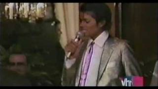 Michael Jackson Sings For His Mother