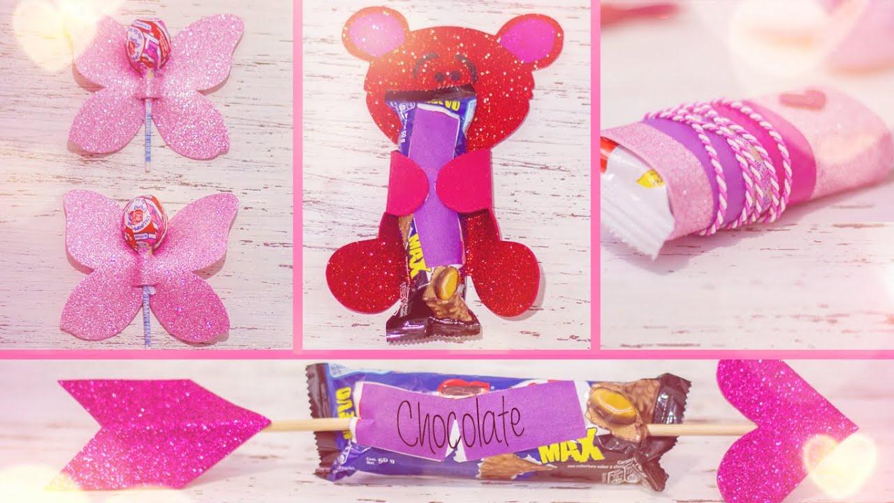 4 maneras creativas de regalar un dulce en san valentin - Dulces de san valentin ...