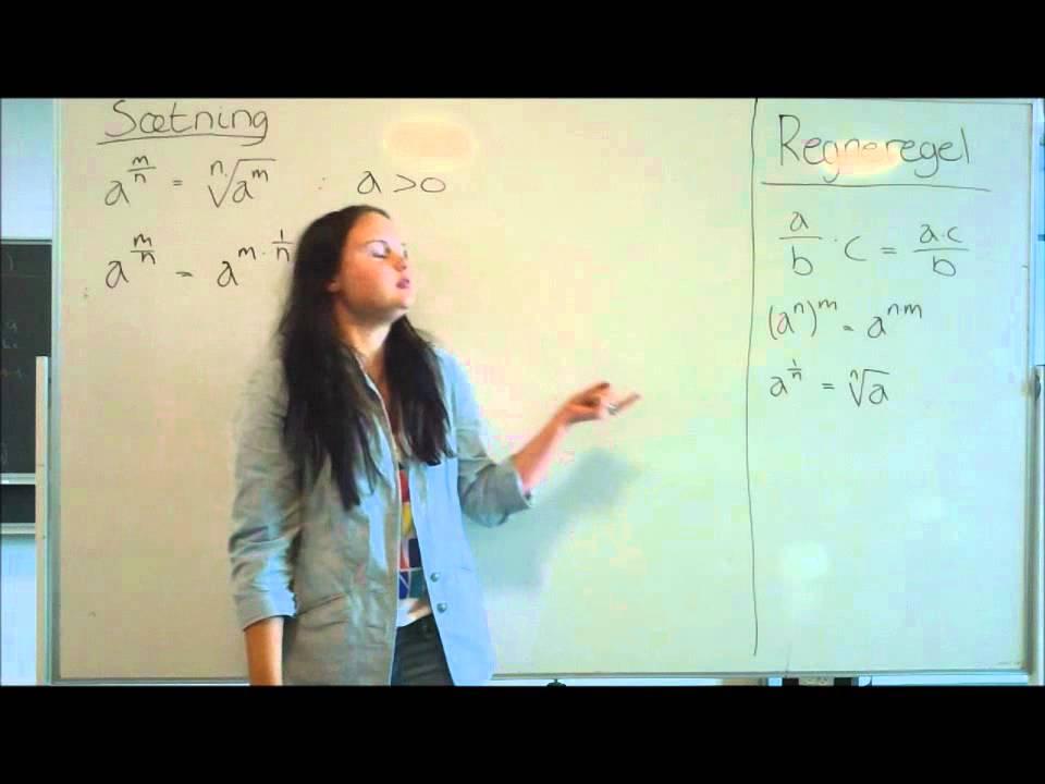 Potens matematik Kvadratrødder og