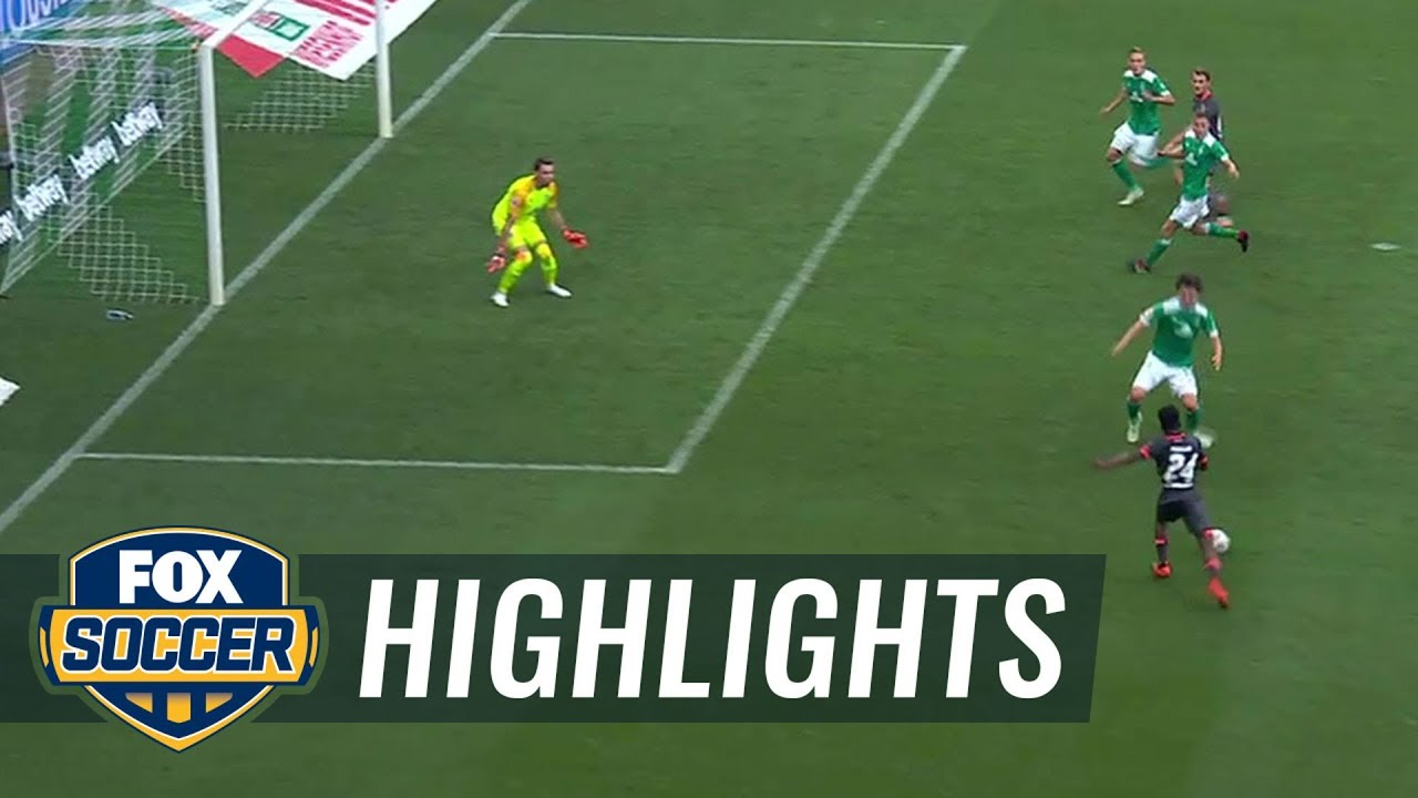 Virgil Misidjan scores equalizer in stoppage time vs. Werder Bremen | 2018-19 Bundesliga Highlights
