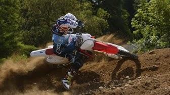 Testissä Honda CRF250R motocross pyörä