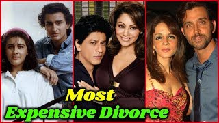 10 Most Expensive Divorces in Bollywood