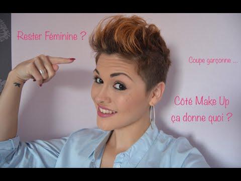 Comment Rester Féminine Avec Les Cheveux Très Courts Youtube