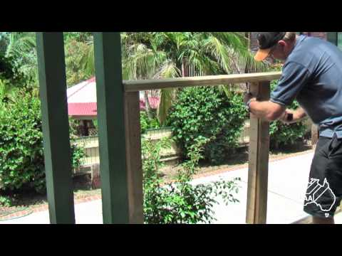 DIY Stainless Balustrading Using Allen Key Tensioner And Swage Terminals