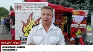 Akcja edukacyjna strażaków