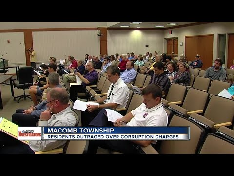 Residents calling for resignations of Macomb Township elected officials