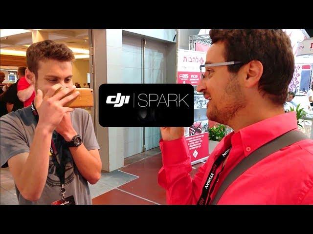 רחפן DJI Spark - כבר בישראל ?!