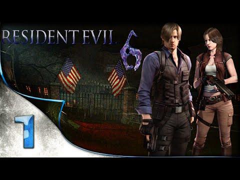 Resident Evil 6 - Detonando - Leon & Helena - 1080p ᴴᴰ Parte 1 ( ͡° ͜ʖ ͡°)