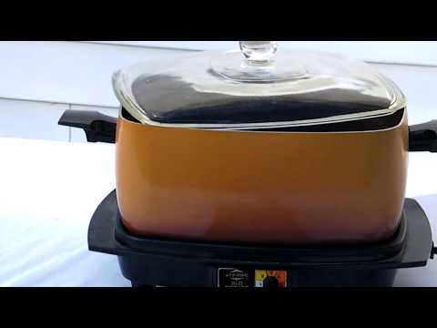 VINTAGE WEST BEND SLOW-COOKER PLUS