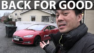 I bought back my 2013 Tesla Model S P85