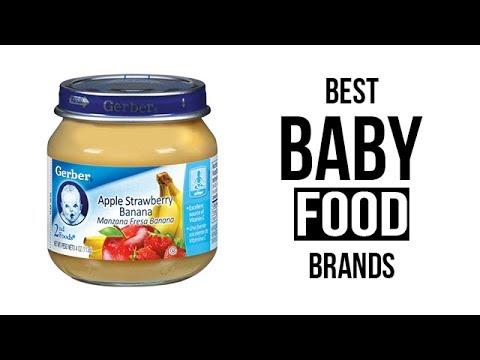 Top 5 Best Baby Food Brands of 2017