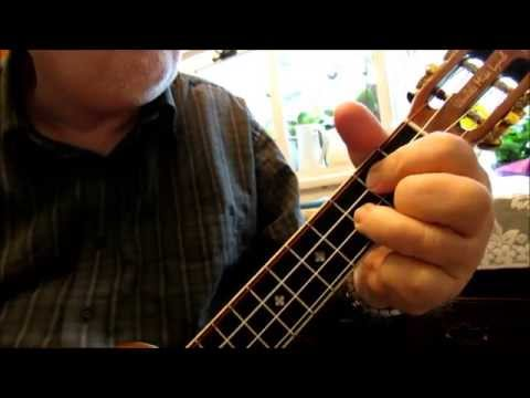 WE THREE KINGS - Ukulele Chord/Melody arrangement by Ukulele Mike Lynch
