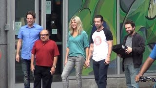 """""""It's Always Sunny in Philadelphia"""" Filming 'The Gang Turns Black' in Philly! (Summer 2016)"""