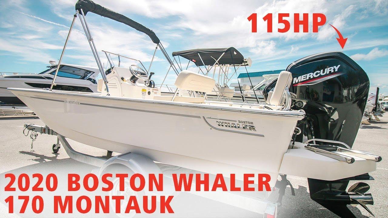 2020 Classic 170 Montauk By Boston Whaler At Marinemax St Petersburg Florida