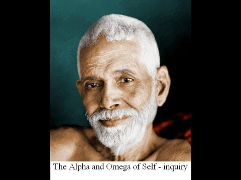 The Alpha and Omega of self-inquiry.