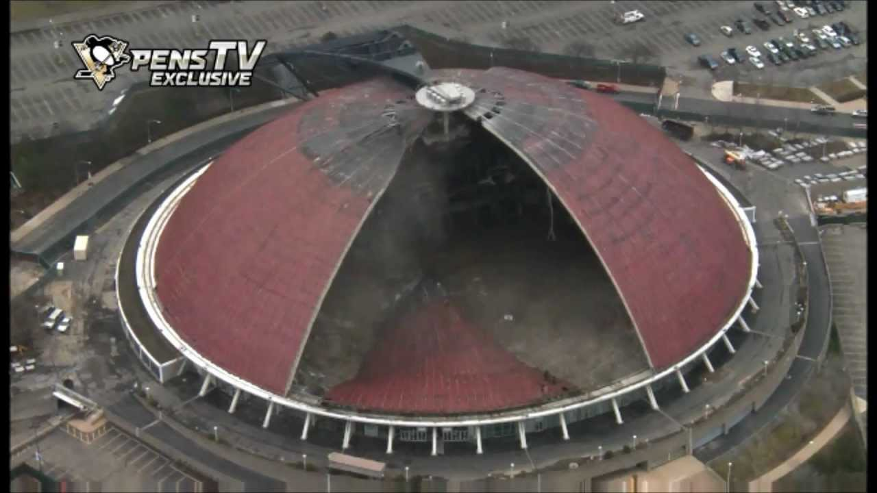 Hd The Civic Mellon Arena Bringing Down The House Youtube