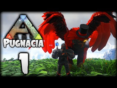 ARK Survival Evolved Modded | Getting Started! Primal Gryphon | Pooping Evolved Pugnacia [Episode 1]