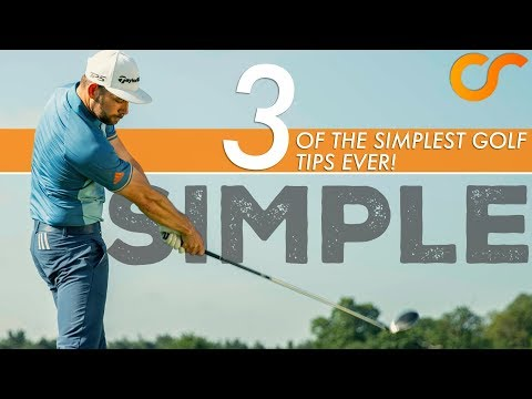 3 OF THE SIMPLEST GOLF TIPS EVER!