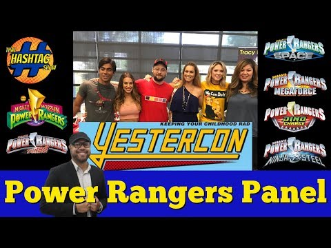 Power Rangers Panel at Yestercon 2017