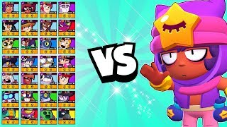MAX Sandy 1v1 against EVERY Brawler | His Super is BROKEN