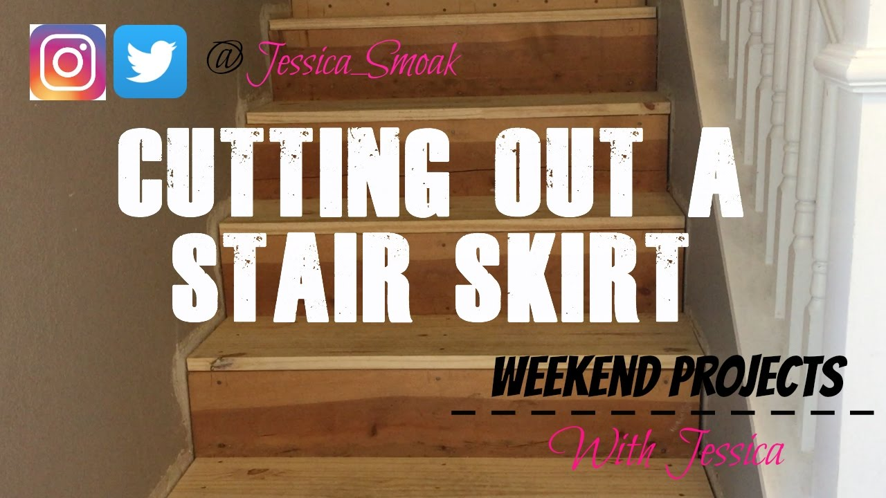Weekend Projects With Jessica   Stair Skirt