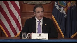 Watch Live: New York Gov. Cuomo Holds News Conference On Coronavirus