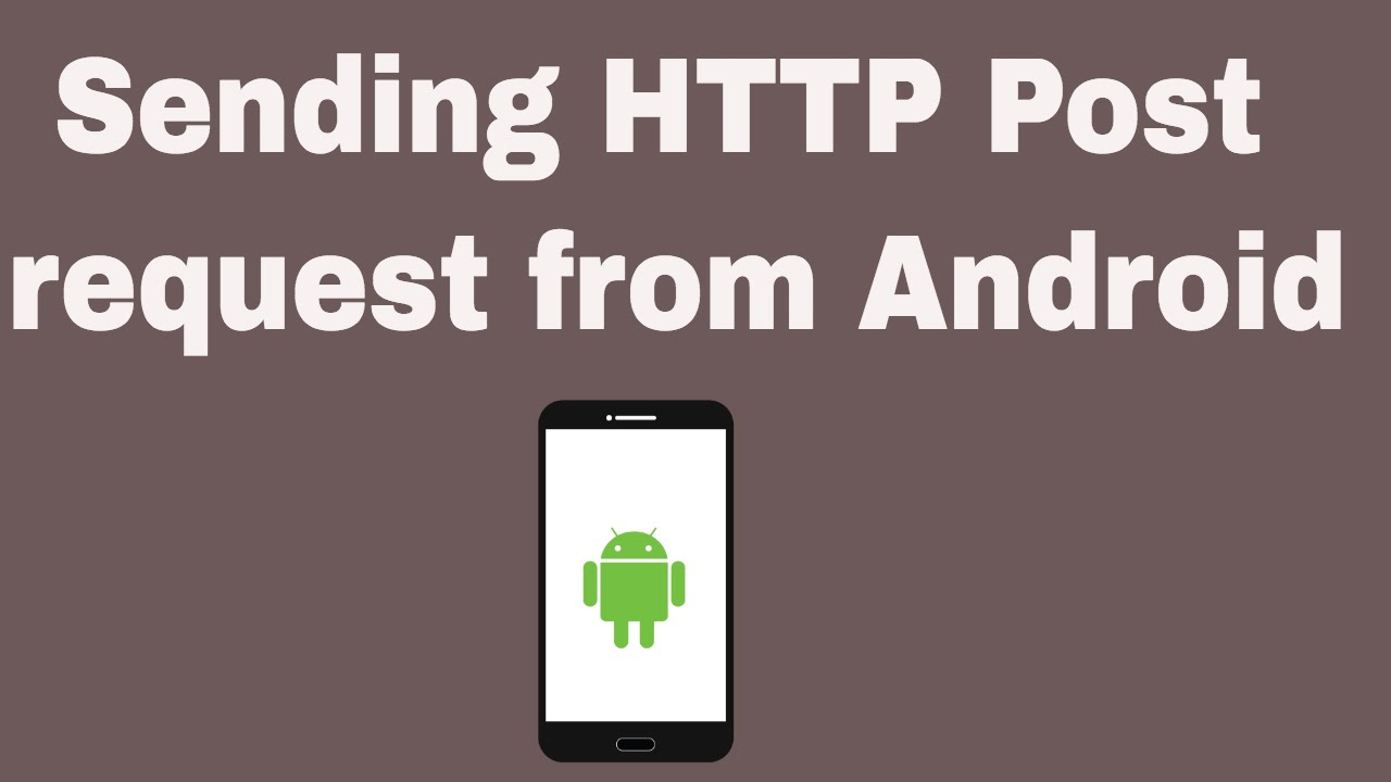 post json string to web service in android