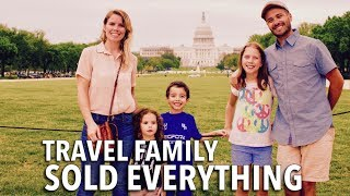 Couple Sold Everything to Travel & Homeschool their 3 Kids | Family World Travel
