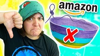 A STRING BOWL? Amazon's 3.5 Stars Craft Kit Review SaltEcrafter #66