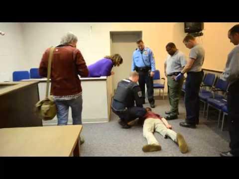 Reporter experiences shock of Taser