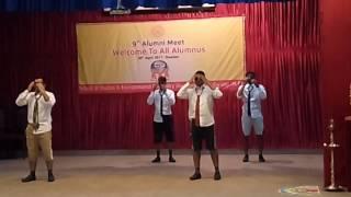 Funny dance by MICAns Jiwaji University