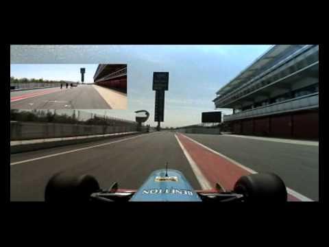 My Drive of a Formula 1 Car in Barcelona