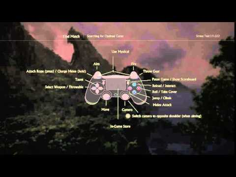 Uncharted 4 Dual Shock 4 Button Layout Controls Mystical