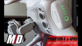 Phantom 4 Off-angle Gimbal Fix