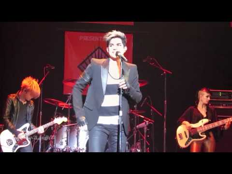 Adam Lambert - HD Naked Love - Wilkes-Barre, PA