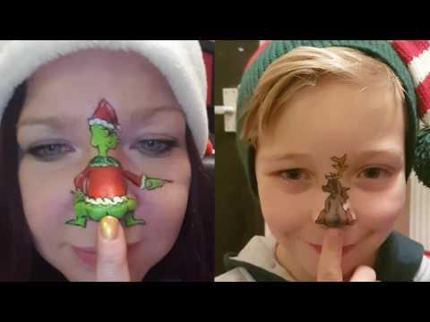 Christmas Nose Twerk! Grinch & Max!