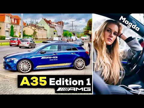 2019 MERCEDES AMG A35 Edition 1 FULL POV Drive W/ Magda AMG Expert At AMG Brand Center In Poland!