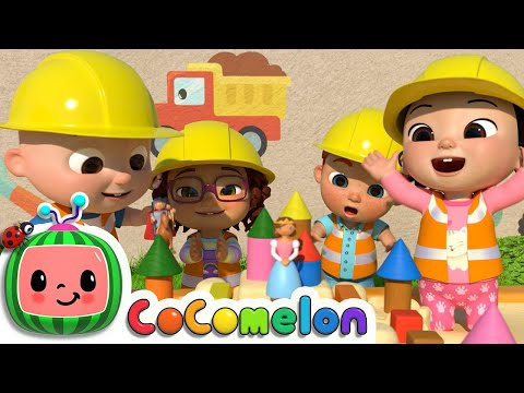 Learn Construction Vehicles Song + More Nursery Rhymes & Kids Songs - CoComelon