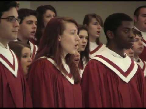 "Centenary College Choir Sings ""Elijah Rock"""