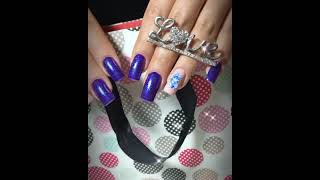Simple and Beautiful Eid Nail Art Designs for Girls at Home