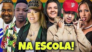 JAPINHA CONDE, YASMIN SANTOS, KAWE, MC RENNAN, MC TOPRE E MC LYA NA ESCOLA!