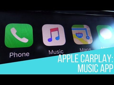 Apple CarPlay in Your Volkswagen: Music App Demo
