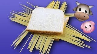 Сэндвич Из Спагетти С Фрикадельками: Невероятный И Неожиданно Вкусный Рецепт