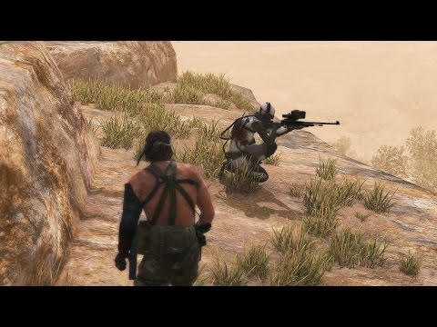 MGS5 - Ep.28: [Code Talker] - No Traces / CQC only / Perfect Stealth